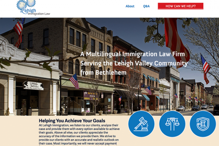 Lehigh Immigration Law Website